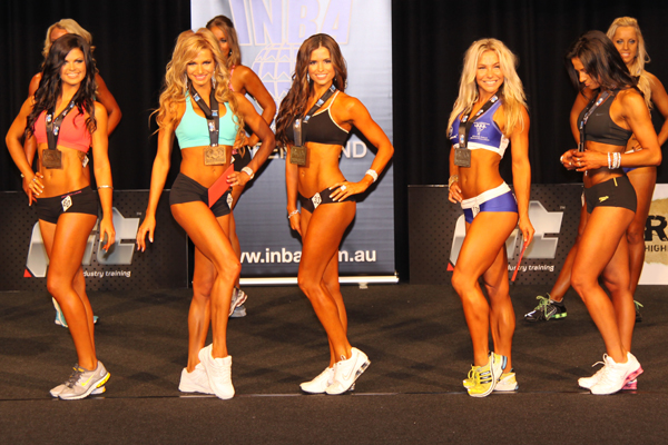 Fitness model competition